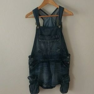 Chip & Pepper Jeans - Chip & Pepper overall shorts with extra pockets